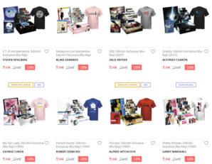 Chollo! Camiseta + Bluray + Posters + Fotos sólo 9,99€