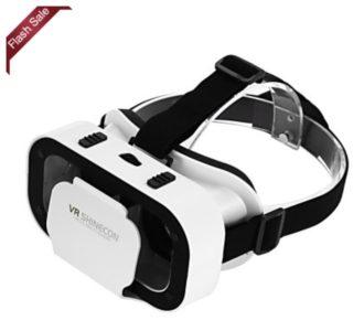 Chollaco! Gafas realidad virtual por sólo 4€ (Oferta Cupon Descuento)