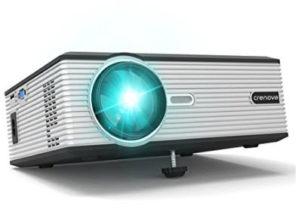 Chollo! Proyector Crenova 1200lm HDMI por 69€