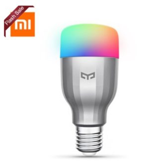 OFERTA! Xiaomi Yeelight RGBW Smart LED por 15€ (Oferta Cupon Descuento)