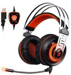 CHOLLO! Auriculares Gaming Headset Virtual 7.1 SADES A7 por 23€