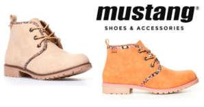 Ganga! Botines Mustang Springboots por 12,95€
