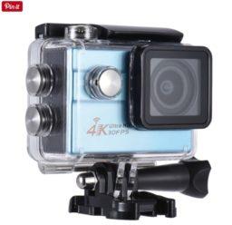 Vuelve el Chollo! Cámara deportiva 4K Sensor Sony IMX179 por 24€