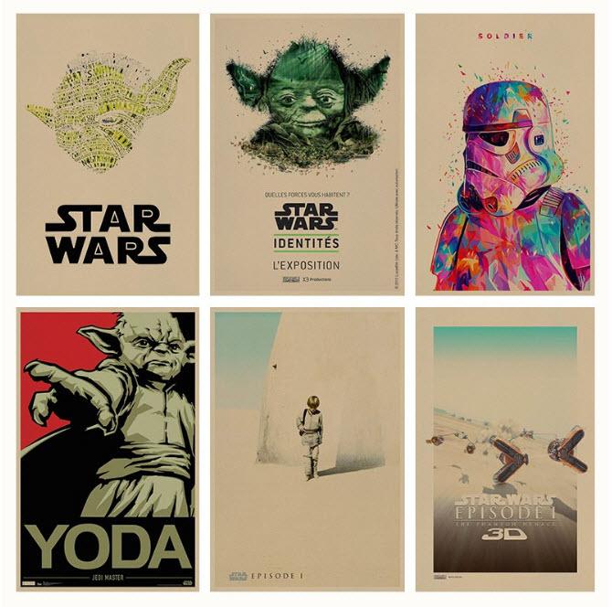 Chollo! Posters Star Wars por 2€ (Oferta Cupon Descuento)