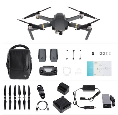 Precio Minimo! Drone DJI Mavic PRO COMBO + 3 Baterías 962€ (Oferta Cupon Descuento)