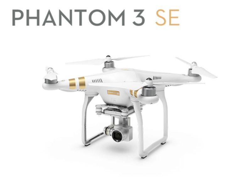 Vuelve el stock! DJI Phantom 3 SE con cámara 4K por 554€