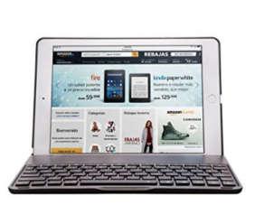 Fundas para iPad Air 1,2 + Teclado Bluetooth Retroiluminado por 36€