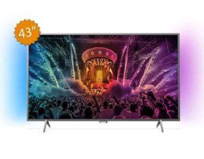 Chollaco! Philips 43PUS6401 TV 43″ 4K Smart TV Ambilight por 469€
