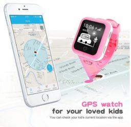 Chollo Amazon! Reloj GPS para niños por 39€