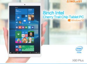 Chollaco! Tablet Teclast X80 PRO Windows 10 + Android por 56€