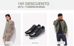 10€ de descuento en Amazon Moda