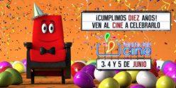 Vuelve la Fiesta del cine a 2,90€ en Junio 2019 consigue tu vale ya