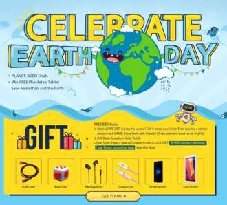 Especial Dia de la tierra Gearbest (Oferta Cupon Descuento)