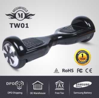 Chollazo desde EU! HoverBoard Megawheels con descuento por 160€ (Oferta Cupon Descuento)