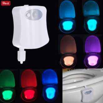 Ofertaca! LED para WC por solo 2,82€ (Oferta Cupon Descuento)