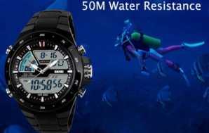 Preciazo! Reloj Cronometro Acuatico 50M por 6€