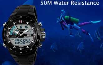 Preciazo! Reloj Cronometro Acuatico 50M por 6€ (Oferta Cupon Descuento)