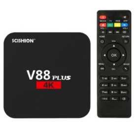 Chollo! Android TV V88 4K a sólo 16€