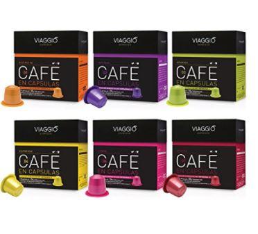 OFERTA AMAZON! Surtido 60 capsulas compatibles con Nespresso a 17€