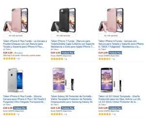 Precio Loco! Fundas y cristales de iphone 6,7 samsung etc.. al 99% de descuento