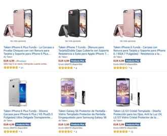 Precio Loco! Fundas y cristales de iphone 6,7 samsung etc.. al 99% de descuento (Oferta Cupon Descuento)