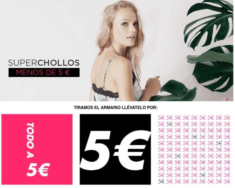Precio Loco! Liquidacion de El Armario de la tele todo a 5€