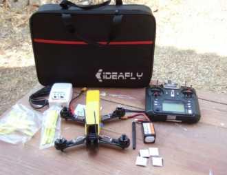 Chollo! Drone de Carreras Completo Ideafly Grasshopper F210 por 115€ (Oferta Cupon Descuento)
