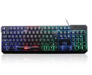 Chollo Amazon! Teclado Motorspeed K70 retroiluminado por 9,99€