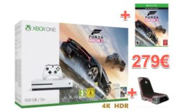 Chollo! Xbox One S + Forza Horizon 3 + Silla por 279€