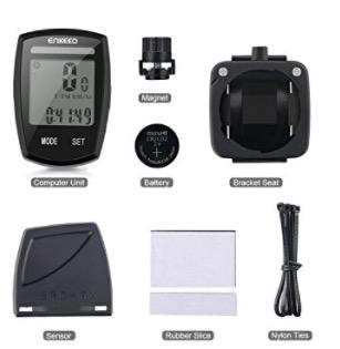 Chollazo Amazon! Ciclocomputador Enkeeo Voyage inalambrico para bici por 2,80€ (Oferta Cupon Descuento)
