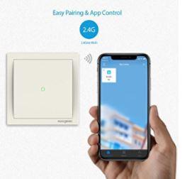 OFERTA AMAZON! Interruptor Koogeek Wifi por 39.99€ (Oferta Cupon Descuento)