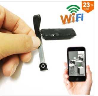 Chollito! Micro Camara Oculta con Wifi por 8€ (Oferta Cupon Descuento)
