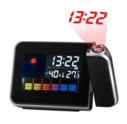 Chollito! Reloj Proyector de hora y Temperatura por 5€