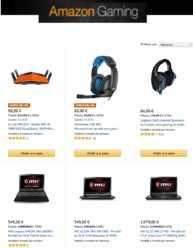 Nuevas ofertas en la Semana del Gamming en Amazon!