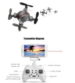 Chollito! Drone con Camara FPV Z201YS por solo 19€ (Oferta Cupon Descuento)
