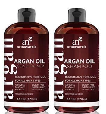 CHOLLAZO! Champu y Acondicionador con aceite de argan ArtNaturals por 16.10€
