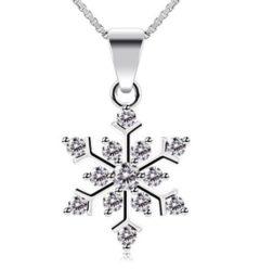 CHOLLO! Collar de plata Copo de nieve por 8.99€