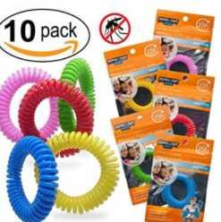 SUPER CHOLLO! Pack 10 brazaletes antimosquitos por 4€