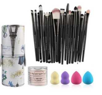 CHOLLAZO! Set de brochas para maquillaje por 7€ (Oferta Cupon Descuento)