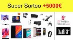 Super Sorteo +5000€ en regalos