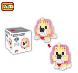 Chollito! Figura para montar con piezas de lego 207 piezas por 2€