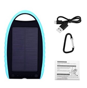 Chollo amazon! Powerbank solar 7000mah por 7,99€ (Oferta Cupon Descuento)