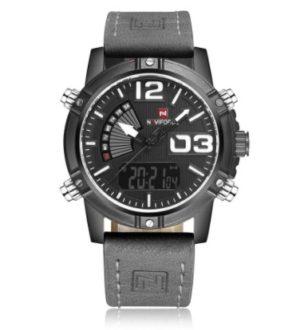 OFERTA! Reloj de cuero para hombre por 11€ (Oferta Cupon Descuento)