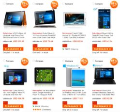 Precios Locos! Tablets y Smartphones al 60% de descuento