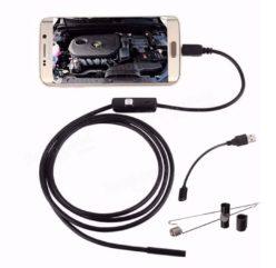 Chollito! Endoscopio compatible con USB, Micro USB y Type C por 5€