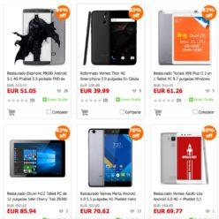 Precios Locos! Tablets y Smartphones al 70% con descuentos igogo
