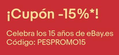 15% descuento EBAY