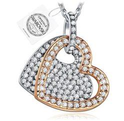 CHOLLAZO AMAZON! Collar corazon cristales SWAROVSKI por 9.99€