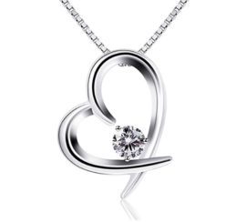 Chollazo amazon! Collar de plata Corazon por 6.99€