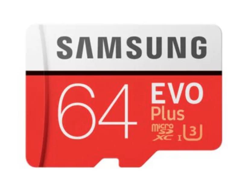 CHOLLITO! Micro Sd Samsung 64GB EVO Plus U3 a 9€ y 128GB a 18€